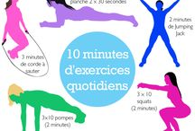 110 minutes d'exercices quotidiens