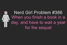 """Nerd girl / Complete and utter fan girl, everything """"nerdy/geeky"""" according to me!!"""