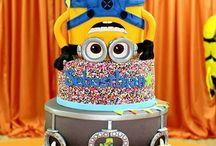 Konfirmasjon / Minions cake