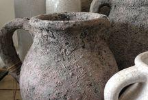 Oude potten en vazen pimpen