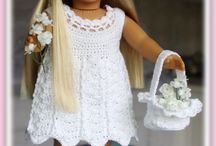 háčkované oblečení na panenky