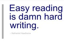 Writers words