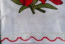 bordado con aguja rusa
