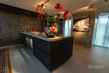 Project in het Entrepot te Rotterdam met een prachtige Italiaanse handgemaakte Spachtelputz keuken van Comprex.