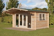 Log Cabins / A log cabin opens up a world of opportunities for you and your family. Whether you need a home office, an extra bedroom, a gym or just a traditional garden summerhouse, a Forest log cabin provides a real way of creating extra living space.