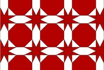 red and white quilts / by Sarah Shaw