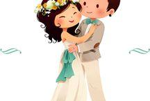 Свадебные пряники