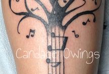 Tattoo with music