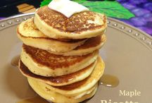 MAPLE RICOTTA PANCAKES / Maple Ricotta Pancake Kitchen Wisdom Gluten Free Recipe