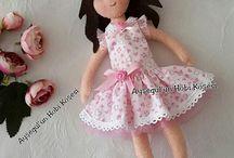 Felt doll / fabric doll