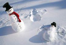 Sneeuw / Sneeuw Engel , landschap, natuur, uil, pop.....