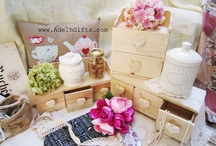 Wood Cabinets / All about my wood cabinet collections... :)