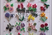 цветы-квиллинг