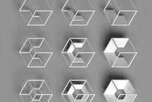 Geometriske + suspenderte former