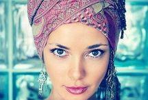 Beautiful hair covering