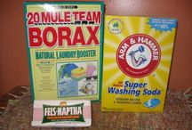 Homemade Cleaning Products and Tips