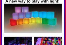 light cube activities