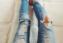 jeans / Ripped or skinny  There all good