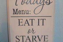Kitchen funny slogans