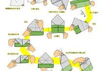 新聞紙で作るゴミ箱