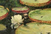 Plein Air Floral, Flower Paintings / by Deborah Chapin
