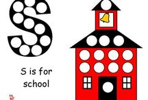 School Themed Ideas for Early Learning / Off to school! With Making Learning Fun! Enjoy these printables and more at www.makinglearningfun.com.  / by Jo Kramer