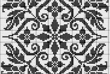 Крестиком (квадраты)