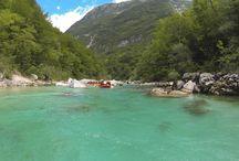 www.eurorafting.sk / Cestovanie, Rafting v Slovinsku, Škola kajaku