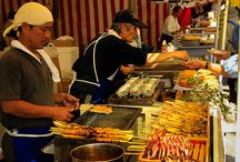 3.  Foods : Street Food ....Yummy Around The World..... / Where Ever We Go , We Will Always Find Street Food..! / by Lindawati Santosa