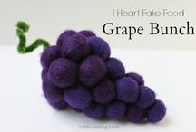 felt foods - grapes