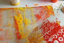 Gelli Printing / by Julie Bates