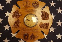 Wood Wall Clocks / Custom Wood Carved Wall or Desk Clocks for any occasion.  / by TheWoodGrainGallery