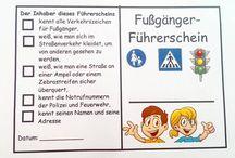 HSU Verkehrserziehung 1.Kl.