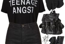 ✖️Grunge✖️ / Just because it's in women's fashion, anyone, regardless of gender, can be inspired by this board.