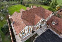 Private House, Prestbury / Using Redland Heathland Tiles in Ember.