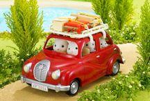 Les véhicules / Il en faut des véhicules pour pouvoir transporter tous les habitants du village Sylvania !