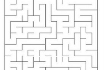 labirintus óvodásoknak