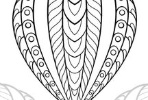 Adult Colouring Page - Free Printables / Free adult colouring images