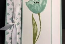 DIY Cards - Tranquil Tulips