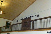 schodiště - Roubenka