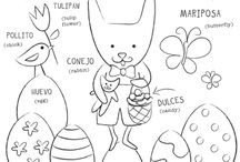 Pascua / by Dos Borreguitas | Spanglish Style for Kids
