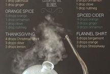 Essential Oil: Diffusing Blends