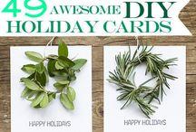Christmas cards / Xmas cards