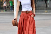 Outfits _ Maxi Skirt