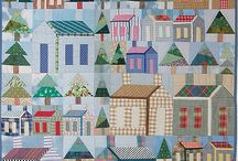 Quilting - houses