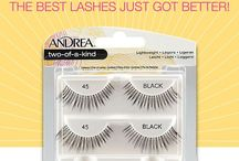 Andrea Two-of-a-Kind Twin Pack Lashes / Andrea's best selling lashes now come in a convenient value pack. With Twin Packs, you'll never run out of your favorite lashes again. These lashes can be used multiple times with proper care and cleaning.