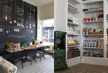Nice shops & restaurants / by Paula Gimenez G