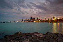 Chicago Skyline / Bunch of random shots I took of Chicago's beautiful skyline