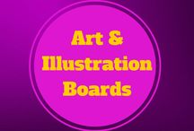 Art and Illustration Boards / Art and Illustration boards covering all aspects of life and fantasy