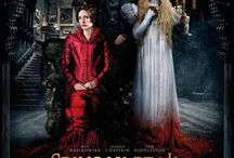 Crimson Peak (2015) / In the aftermath of a family tragedy, an aspiring author is torn between love for her childhood friend and the temptation of a mysterious outsider. Trying to escape the ghosts of her past, she is swept away to a house that breathes, bleeds - and remembers. Staring: Mia Wasikowska, Jessica Chastain, Tom Hiddleston, Charlie Hunnam, Jim Beaver, Burn Gorman, Leslie Hope, Doug Jones, Jonathan Hyde, Bruce Gray, Emily Coutts, Tamara Hope, Joanna Douglas, Bill Lake, Javier Botet, Mitzi McCall ...